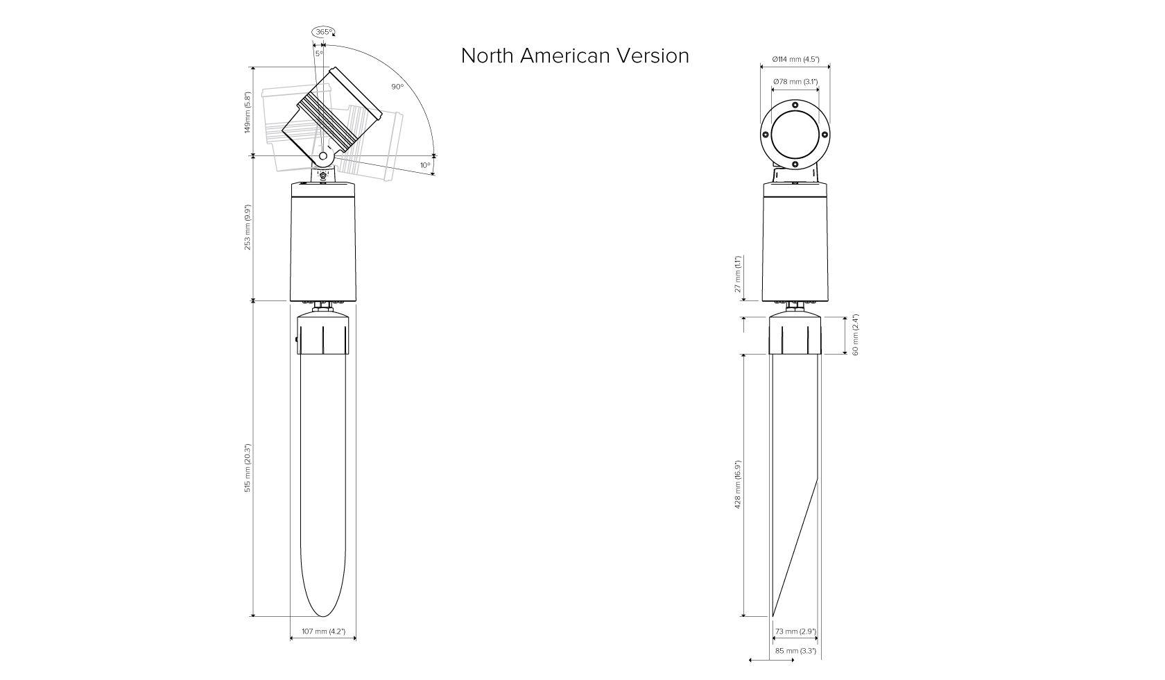 Ls2010 Stena Spike Mount Spotlight Lumascape Rgbw 010v Led Dimmer Controller Sr2811110v Specifications