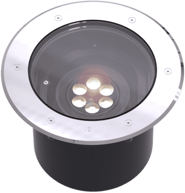 Ls853led evoca inground luminaire lumascape
